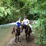 Horseback riding at Club Rio