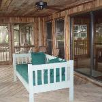 Cedar Lodge porch