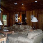 Cedar lodge livingroom
