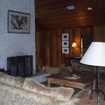 Cedar lodge living room
