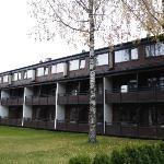 Un des bâtiments avec les chambres