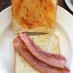 "Canteen ""bacon"" sandwich"