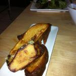 potato wedges w/ parsley and garlic