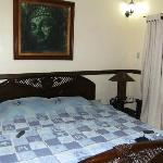The bed in room 25