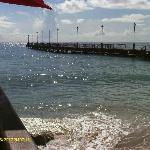 Speightstown pier from Fishermans pub (separate review)