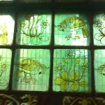 Stained glass window at St John's