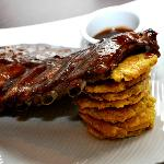 Ancon Ribs: huge, tender, and delicious.