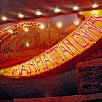 Coney Island Emporium and Roller Coaster Sign