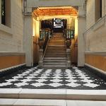 ingresso esterno scale