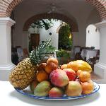 Exotic fruits for your breakfast