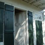 Entrance to The Cajun Kitchen