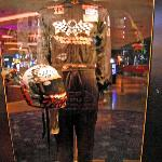 Part of the Rock Memorabilia Collection at the Hard Rock Hotel
