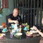 Breakfast at Hacienda Tamarindo