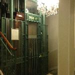 Antique elevator - it works!