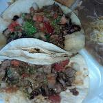 two taco plate
