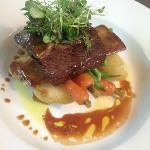 SPECIAL: Braised Beef Short Rib with Confit Potatoes, Beans, Carrots and jus....