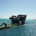 El ferry hundido, muy adrenalínica experiencia para snorkel
