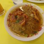 Beef tendon noodle soup