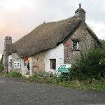Cute thatched cottage restaurant