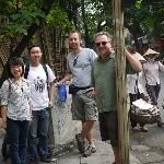 At the end of our touring day with Hanoi Kids