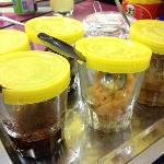 the condiments