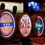 Excellent beers on tap