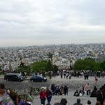 Beautiful view from Montmatre Hill
