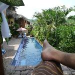 cabana above pool