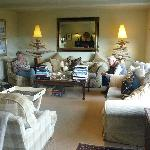 Afternoon tea in the sitting room