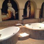 Honeymoon Suite bathroom-just gorgeous.....