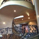 Double volume staircase