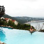La Villa Vista overlooking Lake Travis-- Austin, Texas