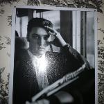 a photo of Elvis, watching over me !