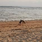 Пляж в том районе