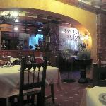 Restaurantr Donna Isabel interior.