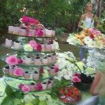 divine berry cheesecake
