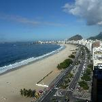 Vista do 27º andar praia de Capacabana