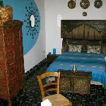 Das türkise Zimmer, sehr schön!
