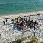 A wedding that took place during our stay, So Romantic!