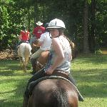 Riding was excellent and appropriately geared toward each riders level of experience