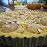 Laurence's grandma recipe for pear tart pie
