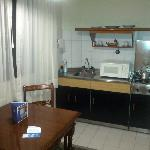 nice kitchen in the room