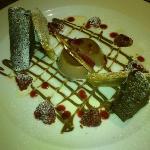 dessert from the restaurant