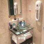 very modern stylish bathroom