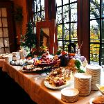 Sunday Brunch - One of Many tables at The Woodlands at Eagle Ridge