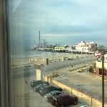 We had a nice view of the Pleasure Pier