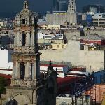 Blick vom Dach Hotel Isabel 1
