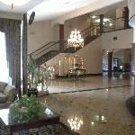 The grand foyer and reception area