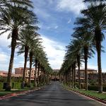 Entrance to Westin Lake Las Vegas