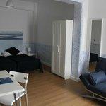Habitación Doble camas separadas con sofá cama adicional